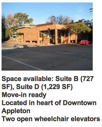 Space Available Page 2 Appleton Downtown