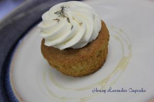 Honey Lavender Cupcake