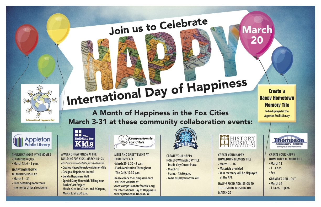 Join us to Celebrate Happy! International Day of Happiness ...