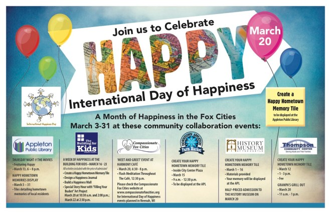 BFK100 International Day of Happiness-Joint Promo Poster
