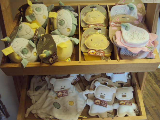 Organic Cotton Baby Toys
