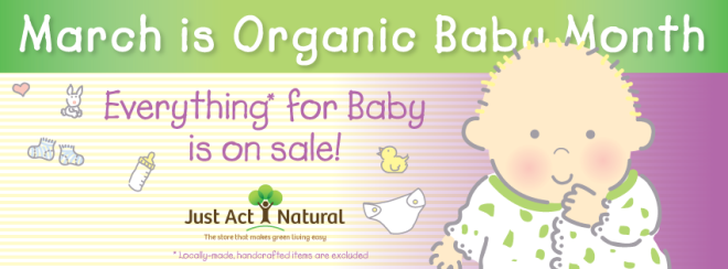Organic Baby Month