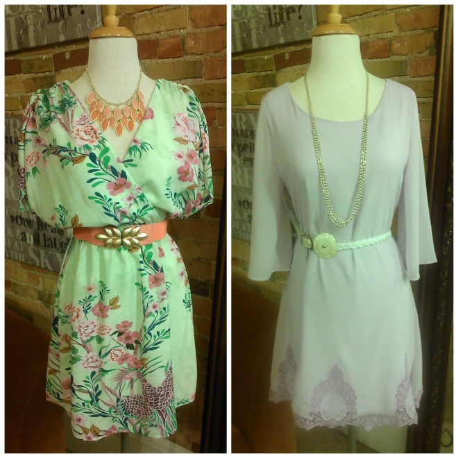 Appleton pastel dresses