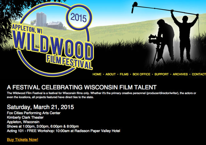 Now That Wisconsin Film Festival Has >> Wildwood Film Festival Celebrates Wisconsin Film Talent March 21