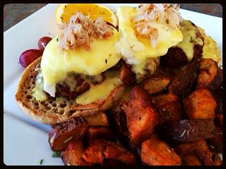 Blackend Shrimp Benedict