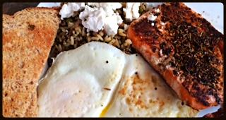 Salmon Breakfast