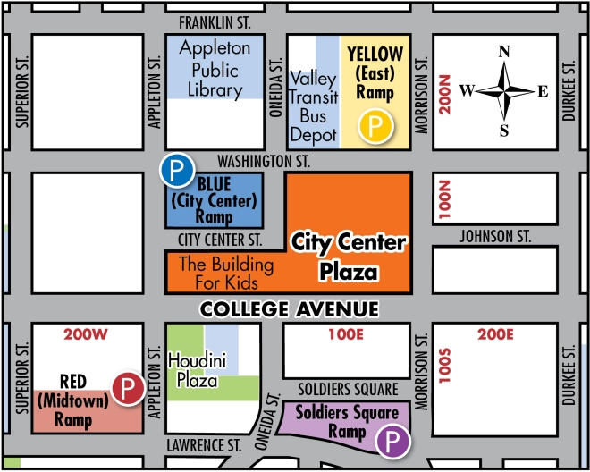 City Center Map 2015